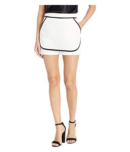 - BCBGeneration Women's Contrast Short, Optic White, 0