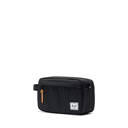 31BZwDB1YoL - Herschel Men's Chapter Travel Kit Bag-Black