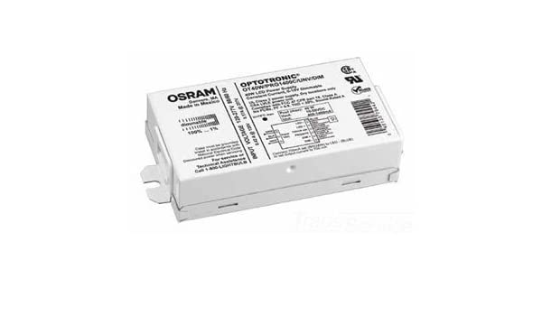 Sylvania 79631 OT50W//PRG1400C//UNV//DIM//L 50W Programmable Linear Constant Current Dimmable LED Driver by Sylvania