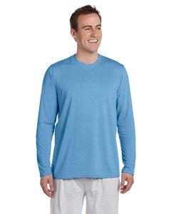 Gildan Performance� 4.5 oz. Long-Sleeve T-Shirt - CAROLINA BLUE - M -