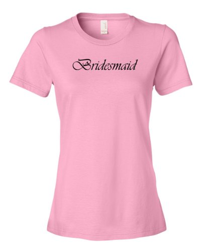 (Bridesmaid Tee Shirts Perfect For Your Vegas Bachelorette Party Entourage Womens XXL pink N)