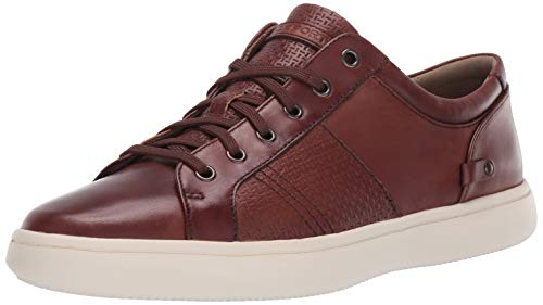 Rockport Men's Colle Tie Sneaker, TAN Smooth, 11 M US ()