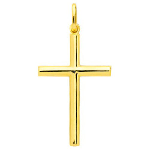 So Chic Bijoux © Pendentif Croix Christ Jésus Crucifix Or Jaune 750/000 (18 carats)