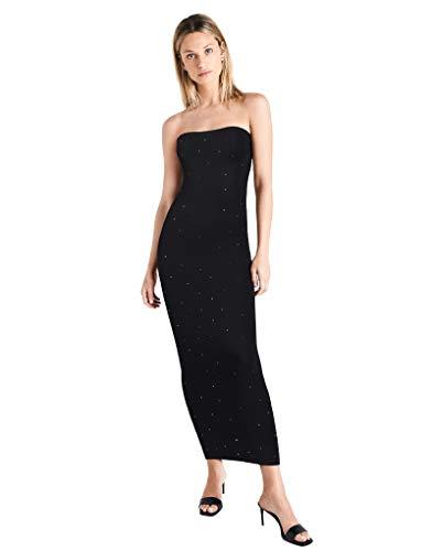 Wolford Women's Crystal Blaze Dress with Swarovski¿ Crystals Black/Golden Shades Medium