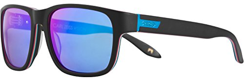 Shred Stomp Shrasta Sunglasses, Smoke/Turquoise - Sunglasses Ted Ligety