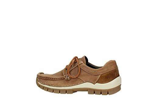10430 Lace Seamy Winter Cognac Nubuck Fly up Wolky Comfort Shoes O0qn5Acw4