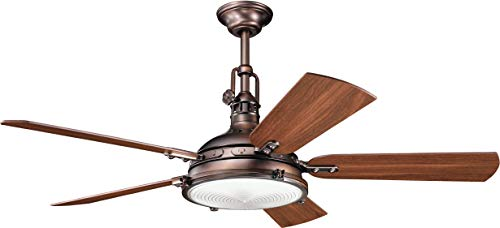 Kichler 300018OBB 56-Inch Hatteras Bay Fan, Oil Brushed Bronze from Kichler