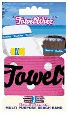 Towelwizz Multi Purpose Beach Band- Pink