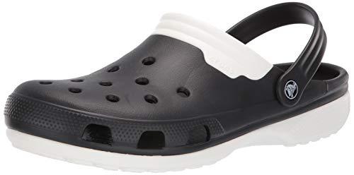 Crocs Duet Clog, Black, 6 US Men/ 8 US Women M US
