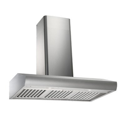 Kobe 36W in. CH2736SQB-WM-1 Wall Mounted Range Hood