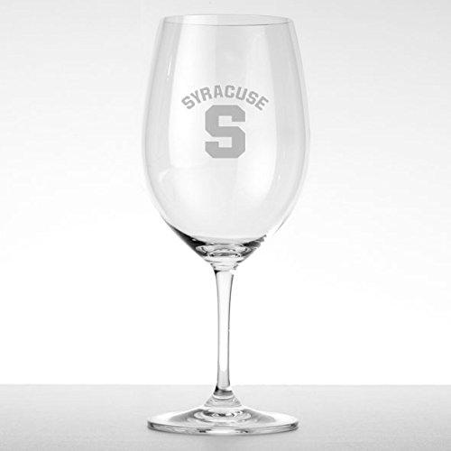 Syracuse University Red Wine Glasses - Set of 2