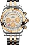 Breitling Men's BTCB042012-G755TT Chronomat 44 GMT Analog Display Swiss Automatic Two Tone Watch