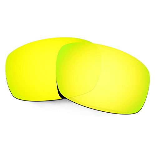 Hkuco Mens Replacement Lenses For Costa Caballito Sunglasses 24K Gold