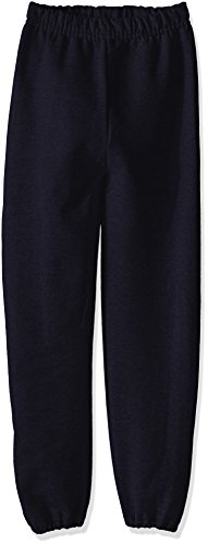 Jerzees Youth Fleece Sweatpant, Black, Medium (Boys Lightweight Sweatpants)