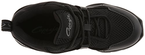 Capezio Women's DS11 Fierce Dance Sneaker,Black,9 M US