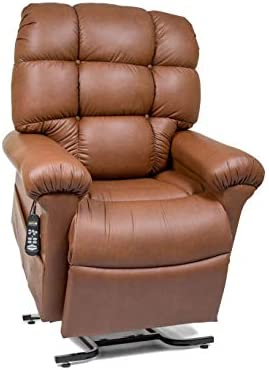 MaxiComfort Series Golden Technologies Cloud with Twilight Positioning PR514 MLA Dual Motor Lift Chair Zero Gravity Recliner – Bridle Leather – in-Home Delivery and Setup