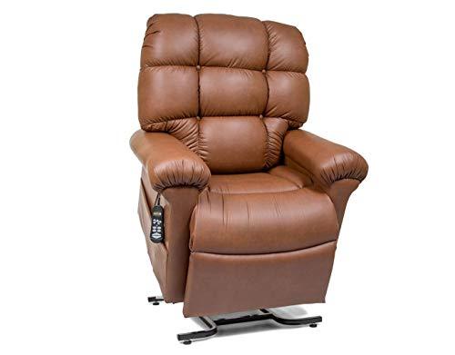 - MaxiComfort Series Golden Technologies Cloud with Twilight Positioning PR514 MLA Dual Motor Lift Chair Zero Gravity Recliner - Copper Fabric
