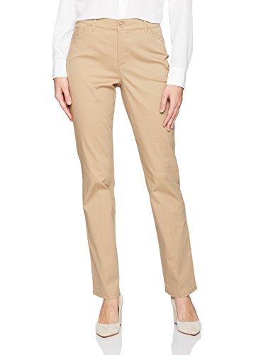 Gloria Vanderbilt Women's Anita Straight Leg Pant, Perfect Khaki, - Modern Slim Pants Corduroy