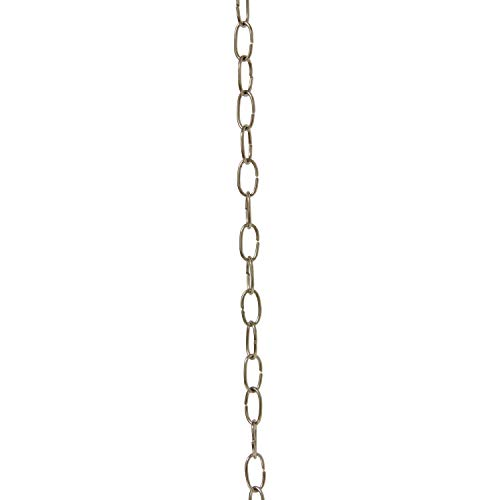 RCH Hardware CH-40-PN-3 Fixture Chain Polished Nickel ()