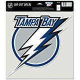 Wincraft Tampa Bay (Wincraft NHL Tampa Bay Lightning Perfect Cut Color Decal, 8