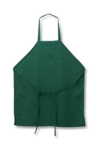 Aprons green 12 Pack new Poly commercial Restaurant Kitchen