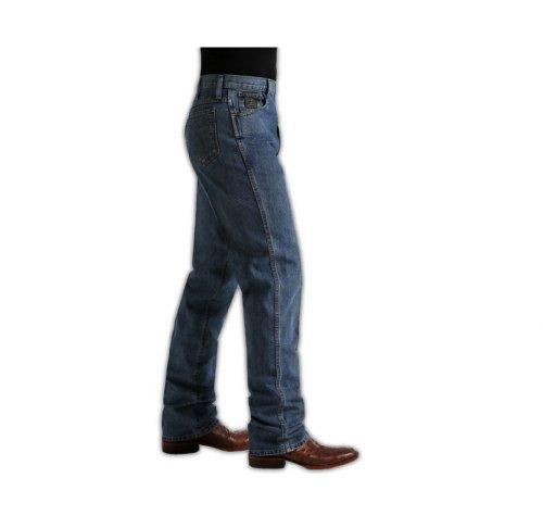 (Cinch Jeans Green Label Original Fit Jeans (42x30, Dark Stonewash 002))