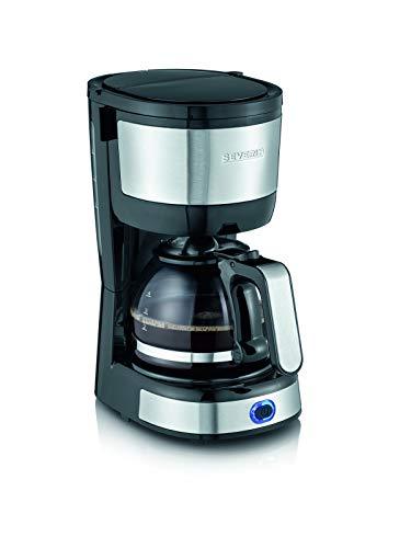 Severin KA 4808 Macchina per il Caffè, Fino a 4 Tazze, Filtro Permanente Lavabile, Filtro Oscillante, Piastra… 1