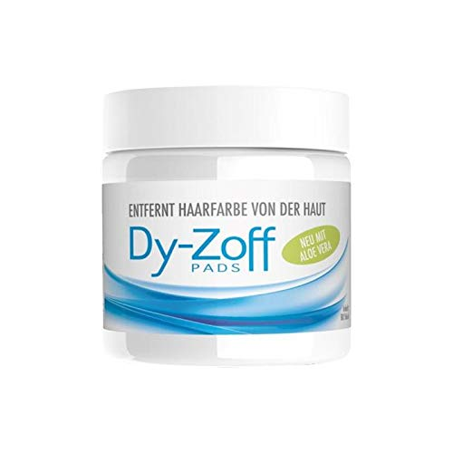 Dy-Zoff Hair Color Stain Remover Pads (B4 Hair Colour Remover Before And After)