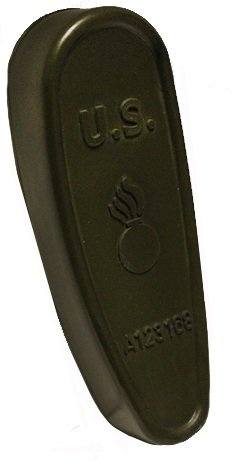 6 Position Retractable Stock (Ultimate Arms Gear Tactical OD Olive Drab Green Slip On Rubber Recoil Reducing Combat Buttpad Butt Pad)