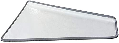 ZHAO YING Colore Solido di Rotazione Scala a chiocciola Mat Tappeti Scale Pedate for Steps Autoadesivo pedate Mats Antiscivolo Passo di Protezione Tappeto di Copertura Stair Carpet