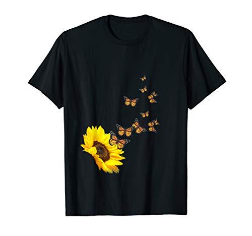 Sunflower Butterfly Dreams T-shirt