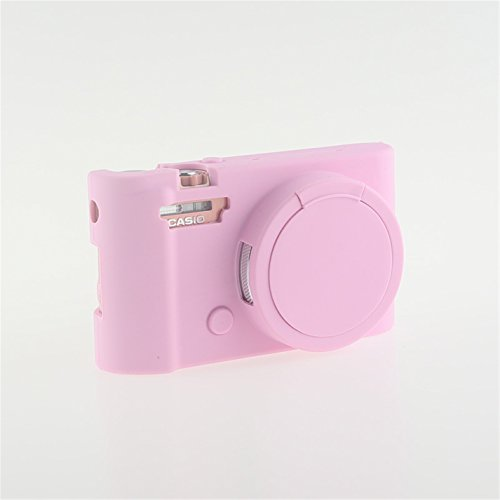 FNSHIP Professional Soft Silicone Rubber Camera Protective Cover Case Skin For CASIO EXILIM Ex-ZR5500 ZR3700 ZR5000 ZR3600 ZR3500-Pink -  FNSHIP-CASE-019-PIN