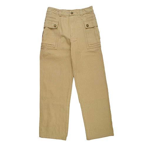 [해외]GFDHHNN Men`s Straight Fit Pant Casual Japanese Twill Loose Tooling Large Pocket Military Trousers / GFDHHNN Men`s Straight Fit Pant Casual Japanese Twill Loose Tooling Large Pocket Military Trousers (XL, Khaki)