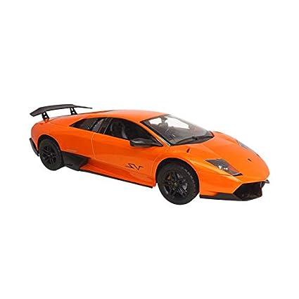 Mexbusa Carro De Radio Control Lamborghini Naranja Murcielago Con