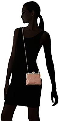 Jessica McClintock Becky Rope Clasp Evening Pouch Clutch