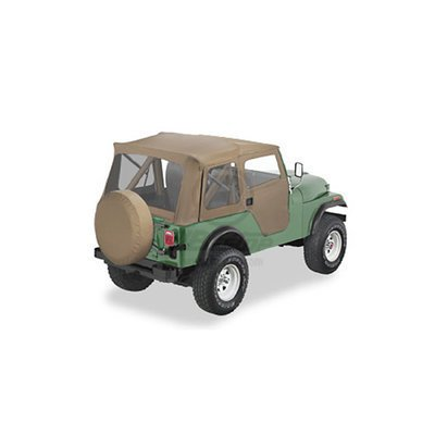 Bestop Jeep CJ CJ5 Bestop Supertop Soft Top Kit 76-83 Tan