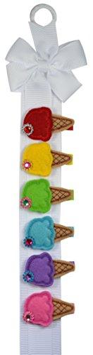 ice cream cone hair clip - 5