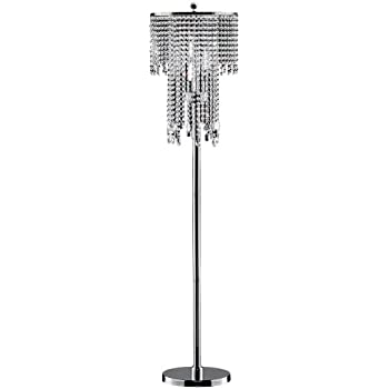 OK 5112f 63 Inch Rain Metal Floor Lamp