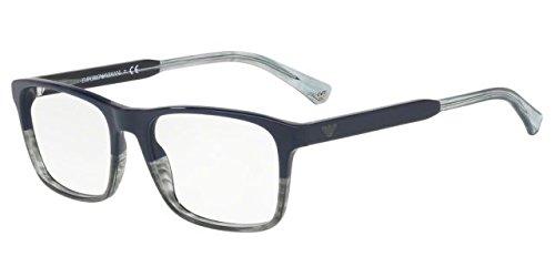e51a04956 Óculos de Grau Emporio Armani EA3120 5572 Azul Lentes Tam 55