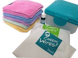 Cheeky wipes kit