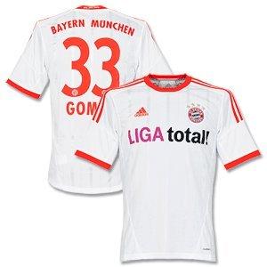 12 13 Bayern München Away Trikot Gomez 33 Xxxl Amazonde Sport