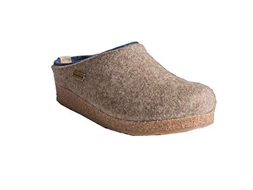 Kris 246 Erwachsene Pantoffeln Haflinger Unisex Beige Beige Grizzly E1vxHwAw8q
