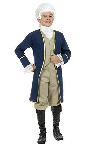 George Washington Children's Costume (Charades Child's George Washington Costume, As Shown,)