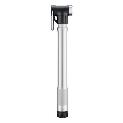 Crankbrothers Sterling Hand Pump - High Volume/High Pressure, Presta & Schrader Bike Pump with Gauge
