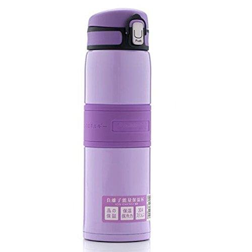 SHULING ISO-Becher Edelstahl und Großen Outdoor Direkte Trinkflasche Stoßfest Portable Wasser Schale