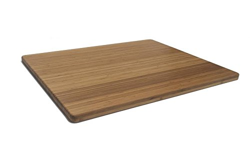 Bamboo Cutting Board - 30'' x 24'' x 1'' by JMX Bamboo