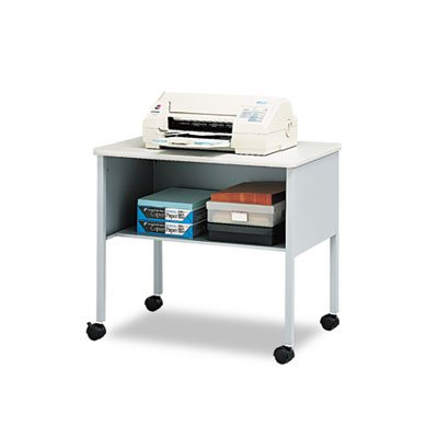 (Safco Products 2140CAGRYGRY Machine Stand, Gray)