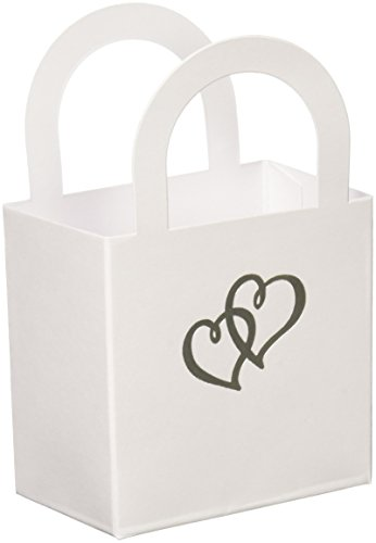 Wilton Favor Bags with Handle, Sweetheart, 20-Pack