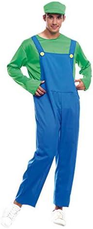 Disfraz Fontanero verde hombre adulto para Carnaval (S): Amazon.es ...