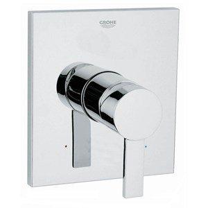 (GROHE - Allure 1-Handle Grohsafe Pressure Balance Valve Trim Kit in StarLight Chrome (Valve Not Included) - Chrome )
